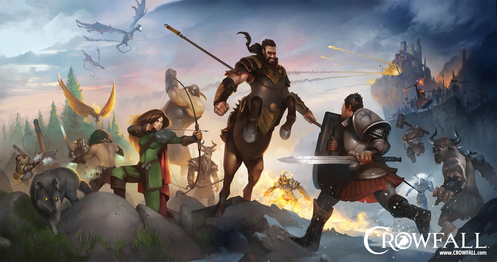 Crowfall: Игра прощается с архетипами и ведет себя странно