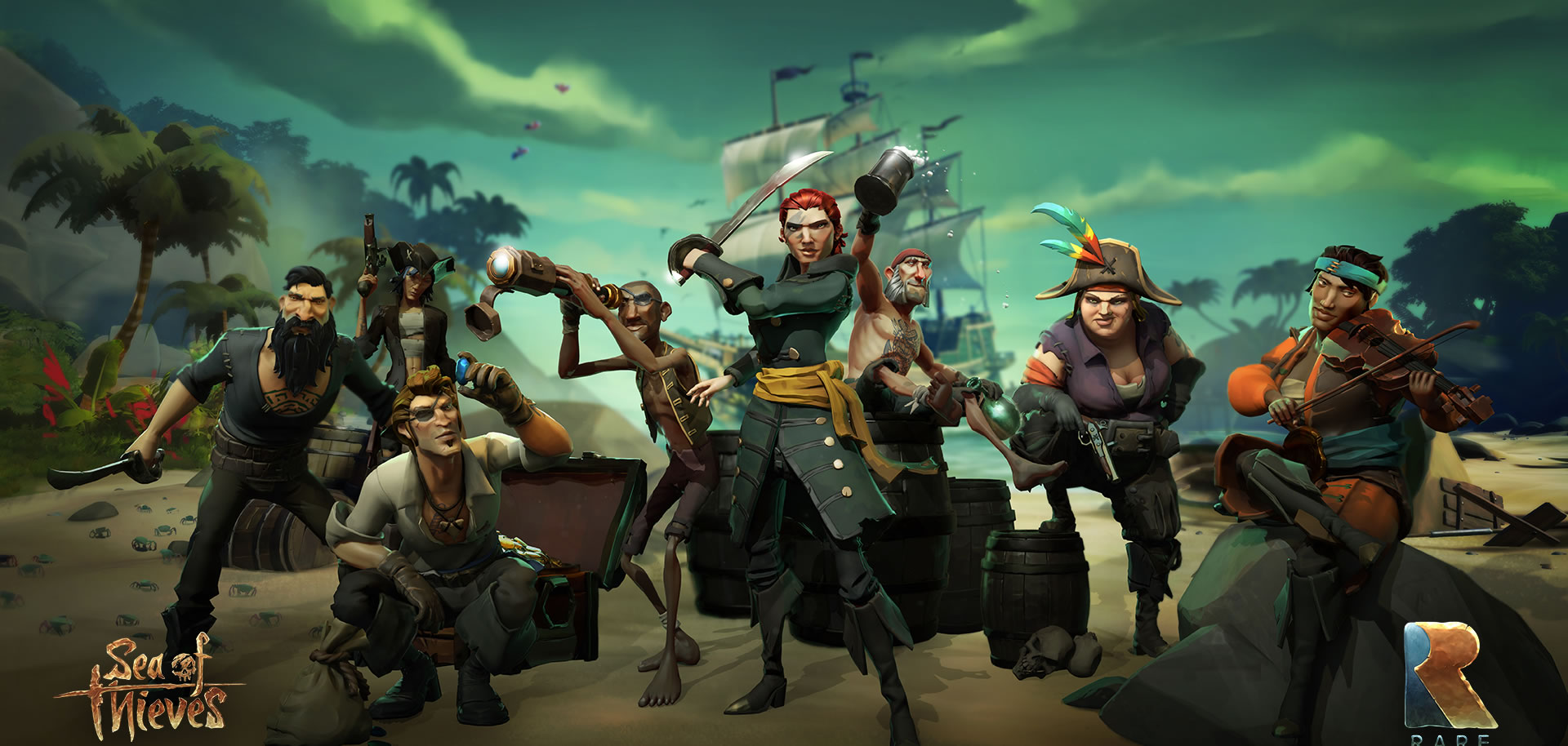 Sea of Thieves: Мир Моря Воров