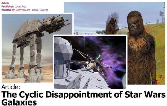 Star Wars Galaxies: SWG: От старта к крушению (часть 4)