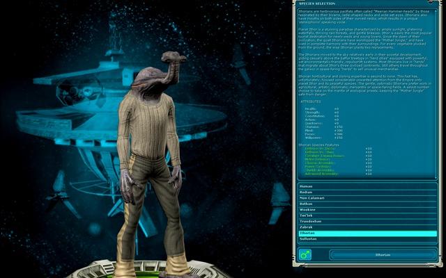 Star Wars Galaxies: SWG: выбор персонажа