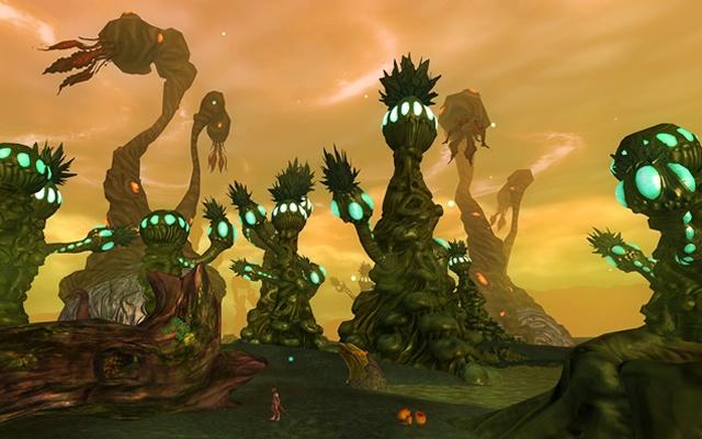 Origins of Malu: OoM: инопланетные болота