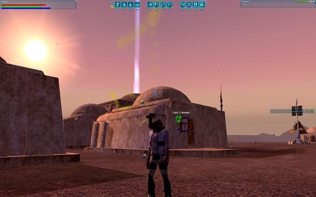Star Wars Galaxies: SWG: мне повезло и я обнаружил несколько жилых домов, один из которых был организован в виде магазина