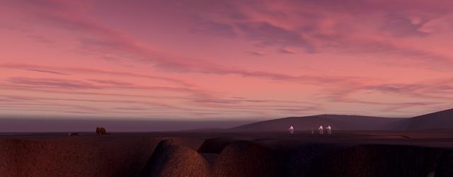 Star Wars Galaxies: SWG: За окраиной города я впервые за все время пребывания в игре увидел внушительное количество мирно пасущейся живности