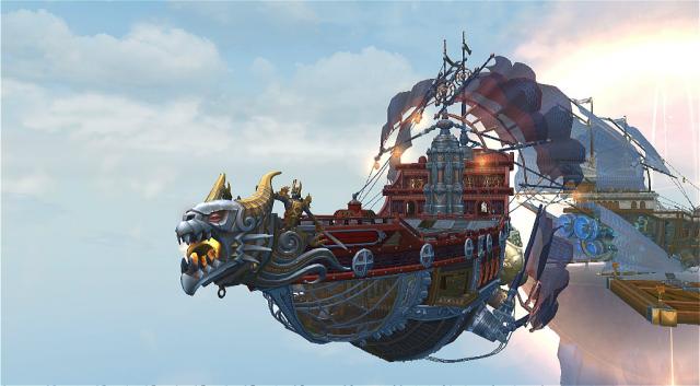 Аллоды Онлайн: AO:  Возможно, виной тому все та же система астральный кораблей, их обустройства и путешествий с командой