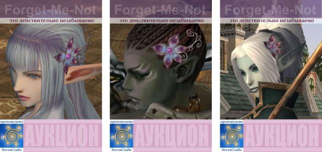 Lineage II: LA2: Украшения для волос, которым торговал наш клан, владея в свое время клан-холлом