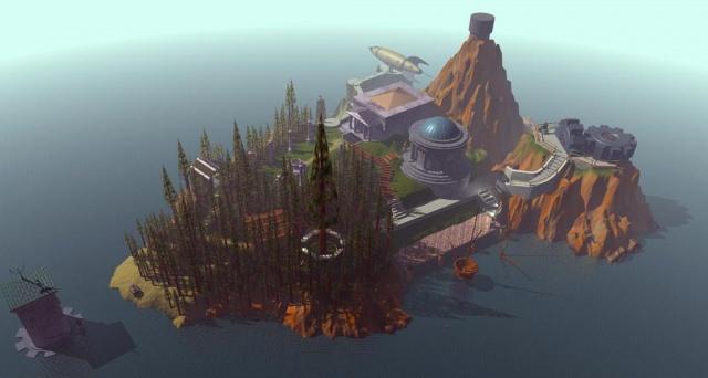 Дом Восходящего Солнца: Myst: рядом