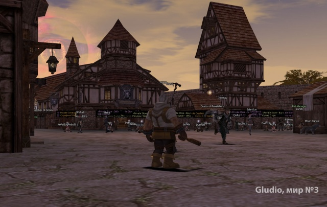 Игры Разума: Третий мир -- площадь бурлит жизнью и заполнена