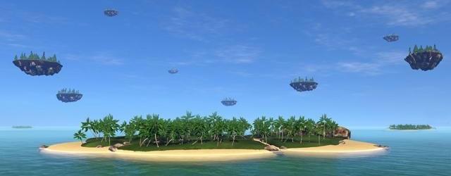 Oceania: Песчаные замки