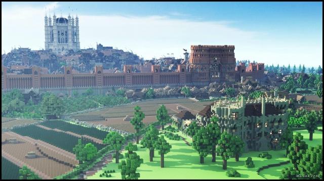 Minecraft: Kings Landing: 3 000 уникальных строений, 100 человек, 4 месяца, один сервер, 35 Gb