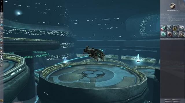 EVE-online: v3-текстуры станций и capital-кораблей