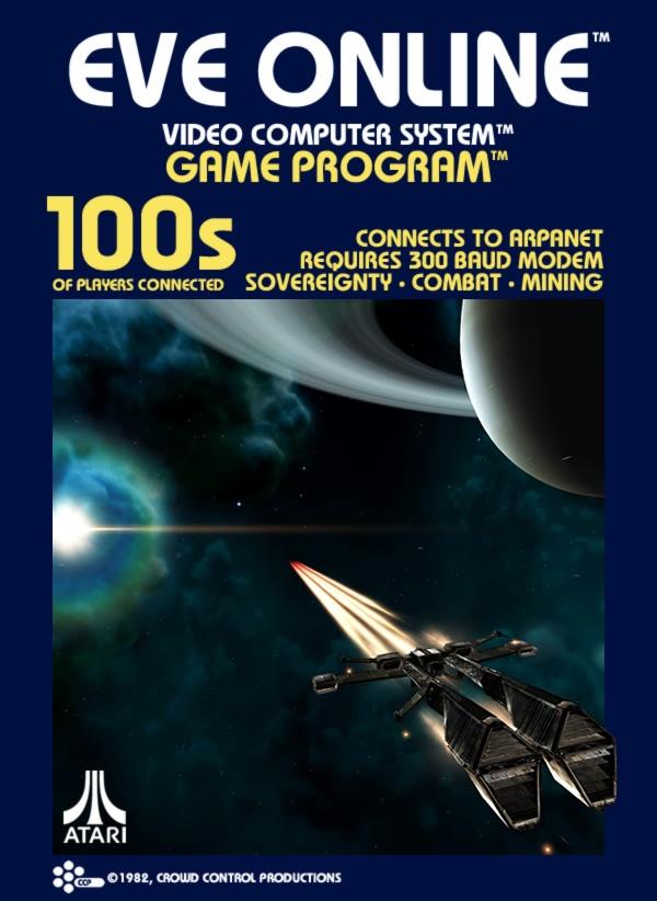 EVE Online - Atari 2600 - 1982