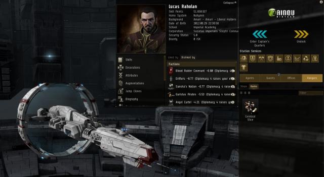 EVE Online: Тело на сто пятьдесят миллиардов
