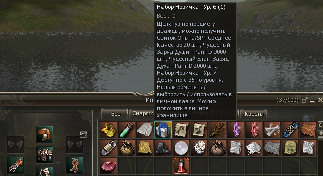 Lineage II: Рефлексы