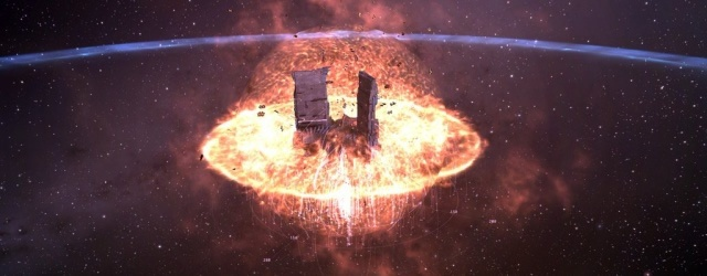 EVE Online: Разрушение XL цитадели.