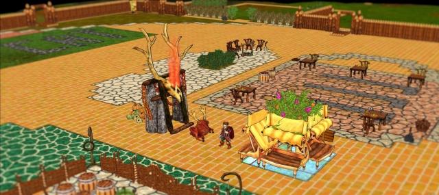 Haven and Hearth: Ragxar и таверна Песочный Кот