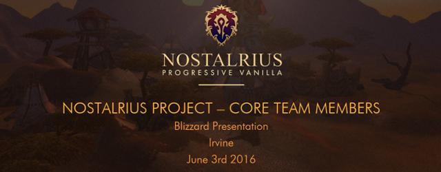 World of Warcraft: Итоги первой встречи Nostalrius и Blizzard