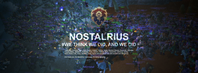 World of Warcraft: Nostalrius все отменяет