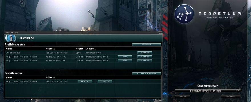 Разработка прекращена, но серверная часть Perpetuum теперь доступна всем желающим
