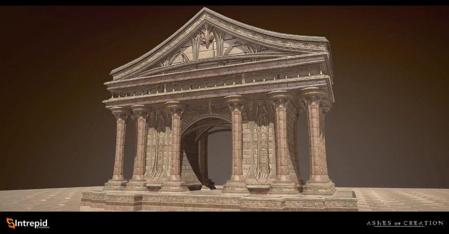 Ashes of Creation: Альфа-Ноль: Первая глобальная территория, три Узла и практические испытания механики