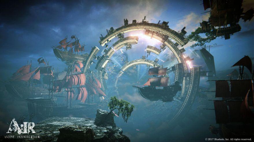 Ascent: Infinite Realm: Bluhole анонсировала новую MMO A:IR с воздушными кораблями и механоидами