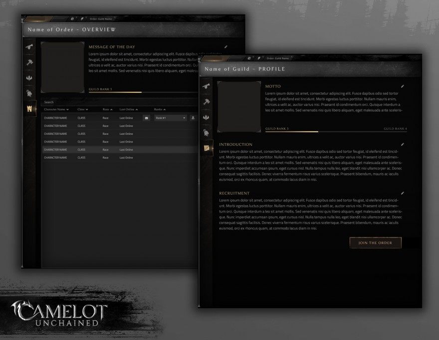 Camelot Unchained: Готовность к Beta 1