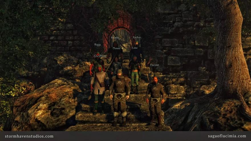 Saga of Lucimia: Групповой Контент