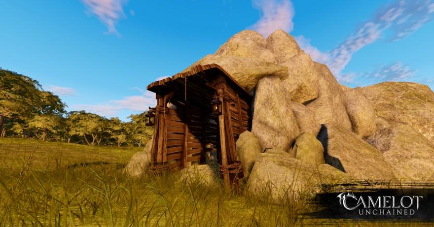 Camelot Unchained: Крафт в Beta 1: Сбор и добыча ресурсов
