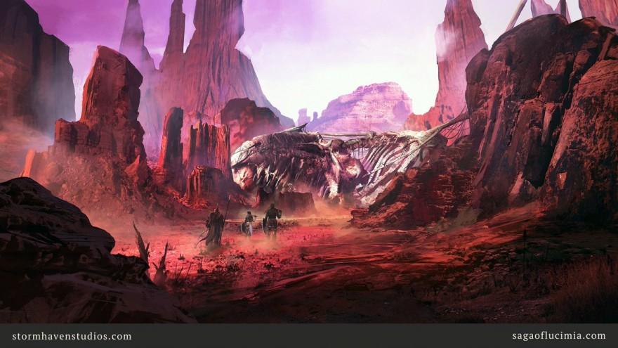 Saga of Lucimia: Тим Андерсон: Наш проект в меньшей степени привычная MMORPG и в большей -- цифровое воплощение пространства для настольной D&D-игры