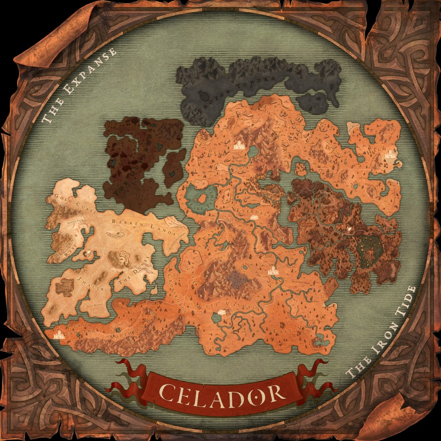 Legends of Aria: Земельные участки, дома и целые поселения
