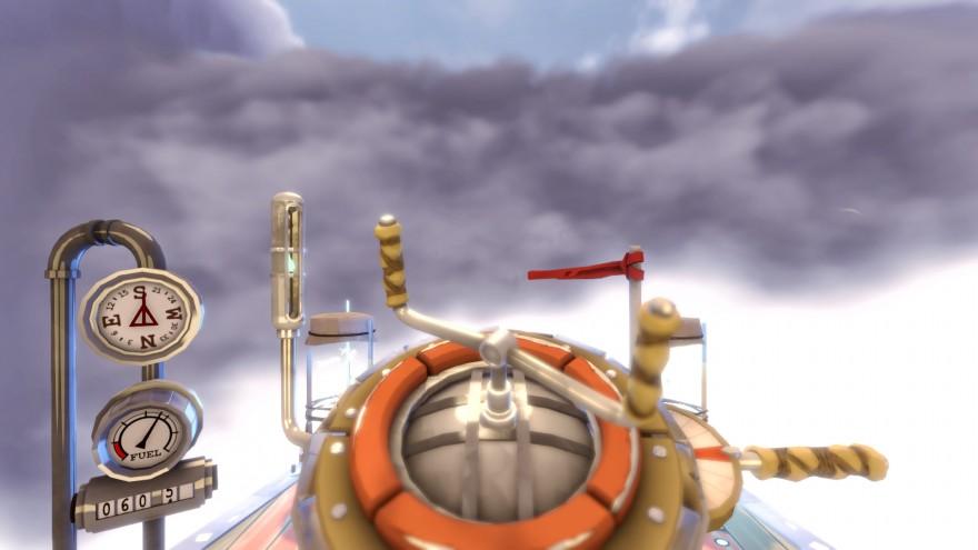 Worlds Adrift: Люк Вильямс: Небесных Китов необязательно убивать