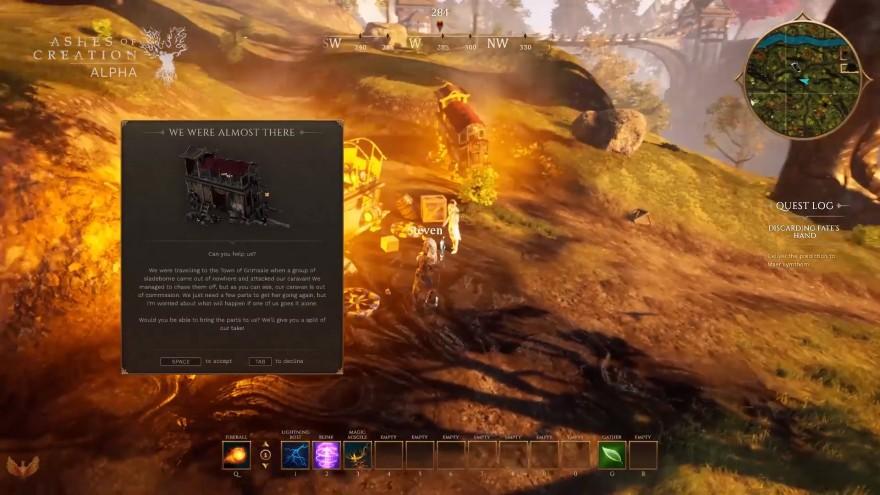 Ashes of Creation: Всё то, что осталось за главным экраном