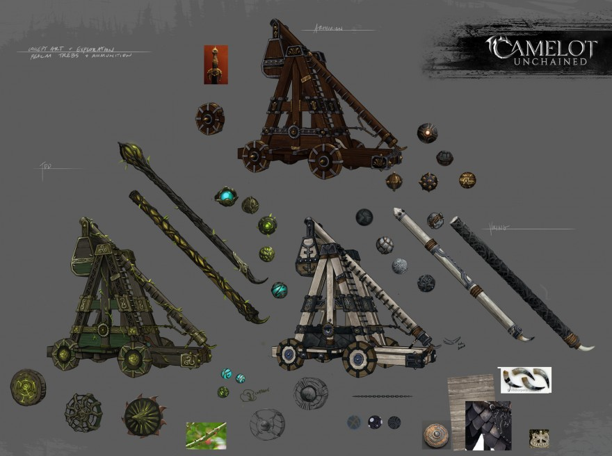 Camelot Unchained: Тестирование разрушений, механика отрядов и прекрасная валькирия