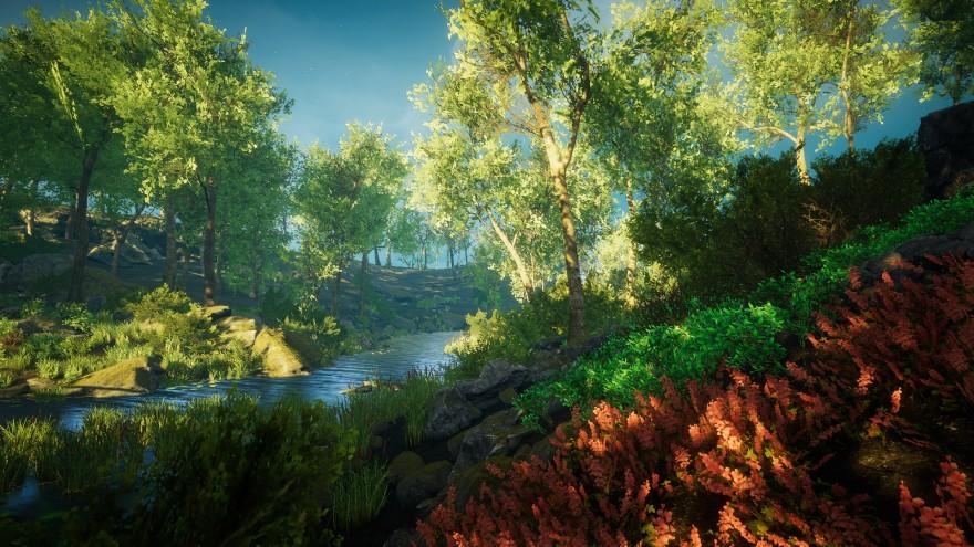 Игровая индустрия: Eastshade: игра про художников или как создать мирный геймплей