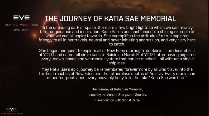 EVE Online: В Новом Эдеме установлен первый монумент в честь игрока, и он посвящён мирному исследованию