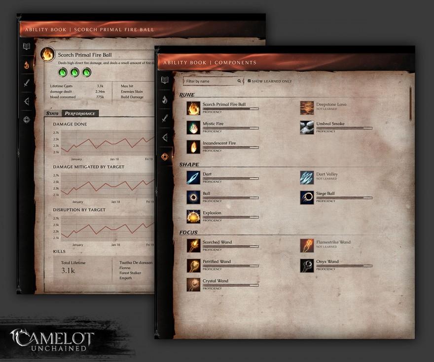 Camelot Unchained: Магия Расколотого Камелота в деталях