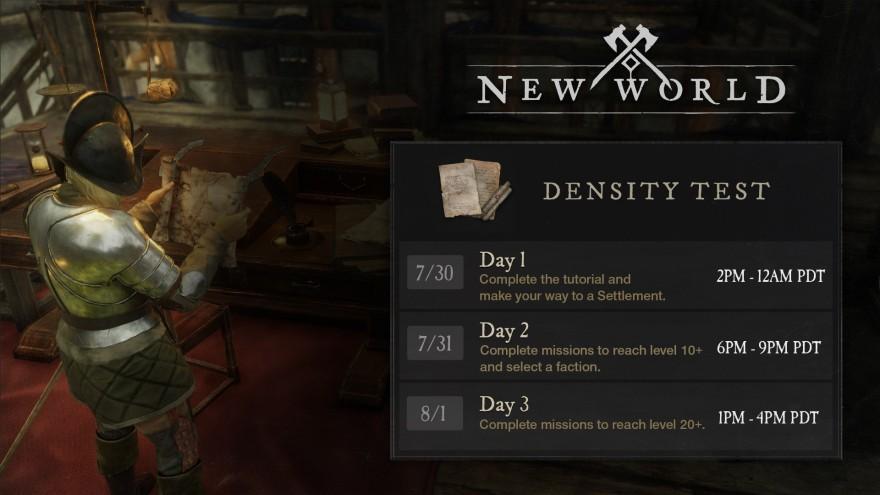 Стрес-тест New World пройдёт с 30 июля по 1 августа. Для нас - по ночам