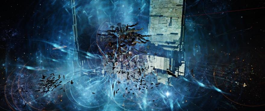 EVE Online: Битва в FWST-8