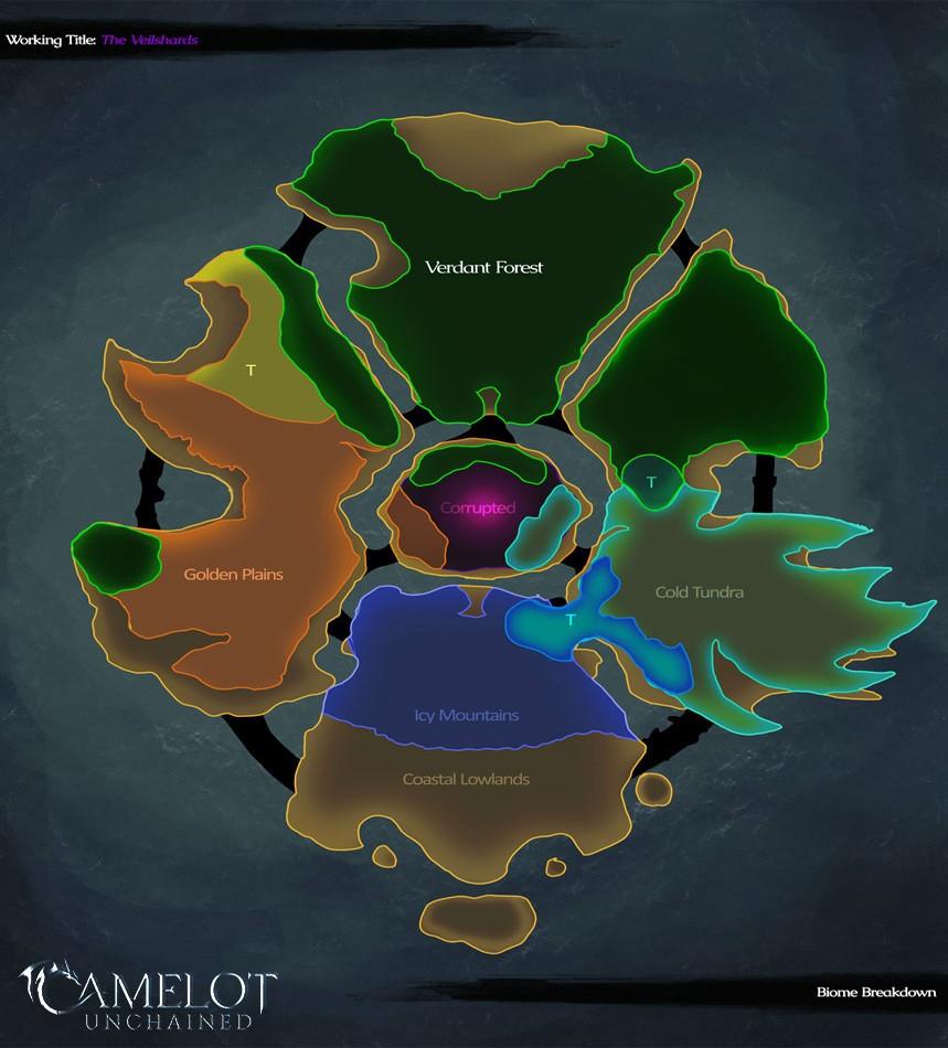 Camelot Unchained: RvR Battleground 2020