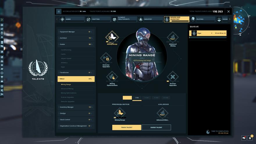 Dual Universe: Производственный ребаланс и проблемы с массовым производством