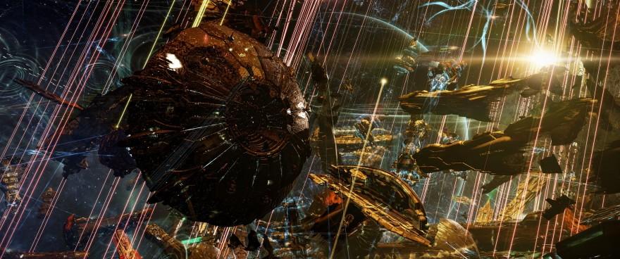 EVE Online: 251 титан уничтожен в битве за систему M2-XFE
