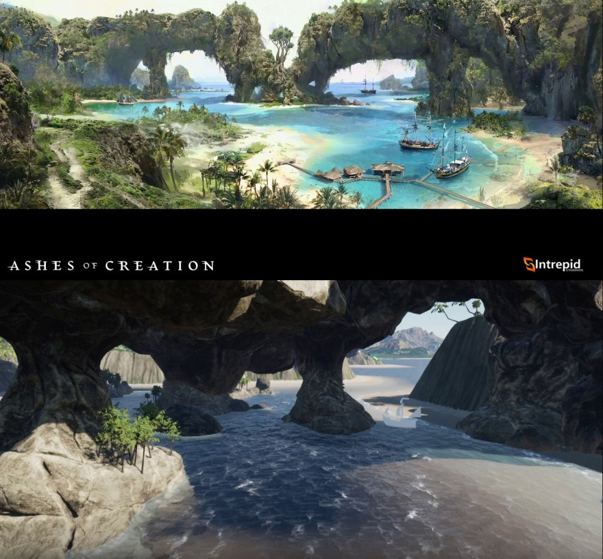 Ashes of Creation: Первые живые детали Alpha One