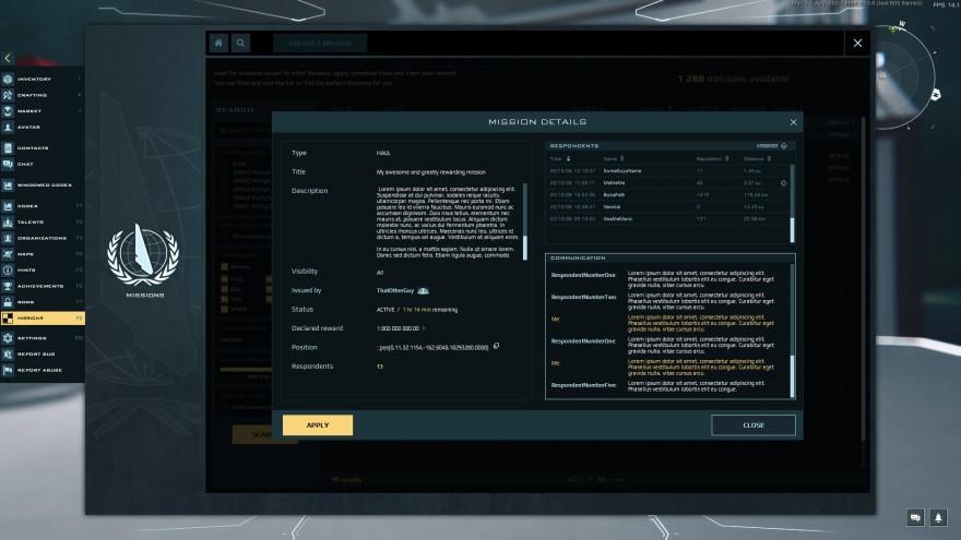 Dual Universe: Новая механика: миссии