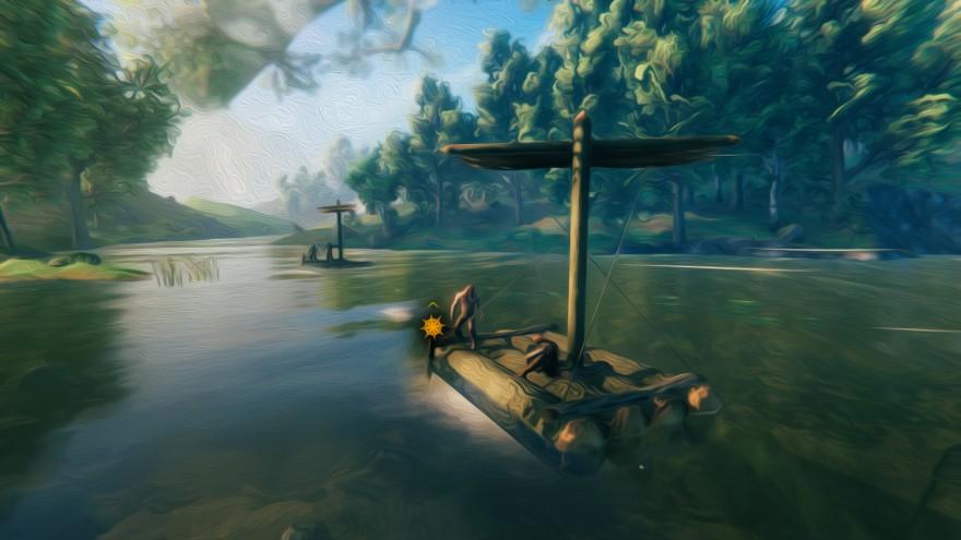 Valheim: Сели мы, значит, в лодку