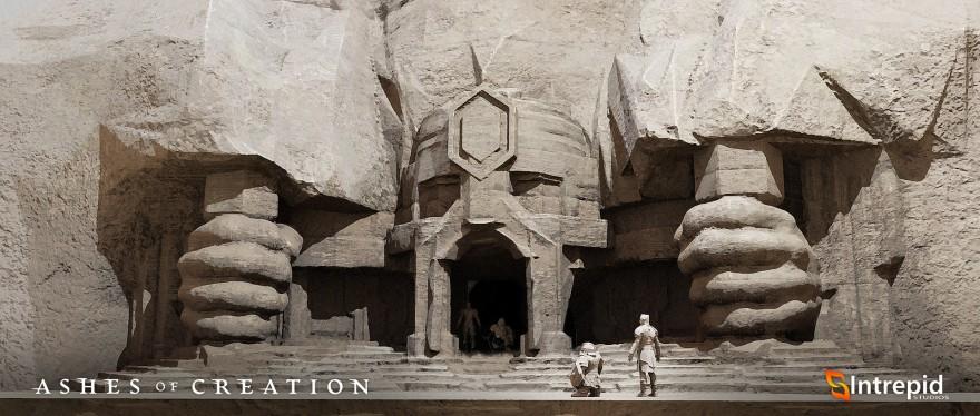 Ashes of Creation: Стивен Шариф готовится открывать двери