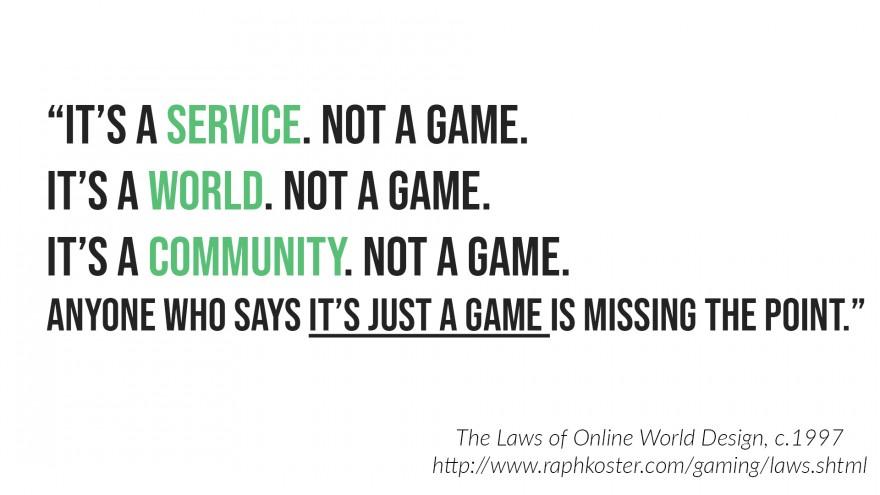 MMO-индустрия: Раф Костер рассказывает, для чего нужна долгосрочная стратегия в отношении MMO