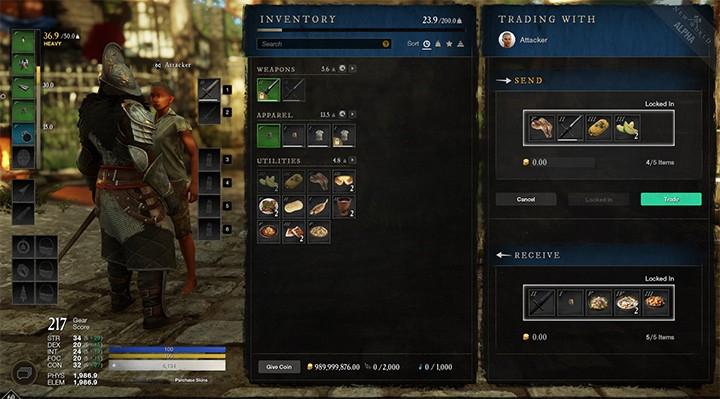 New World: Новые бонусы от контроля территорий, прямой обмен между игроками и ледяная магия