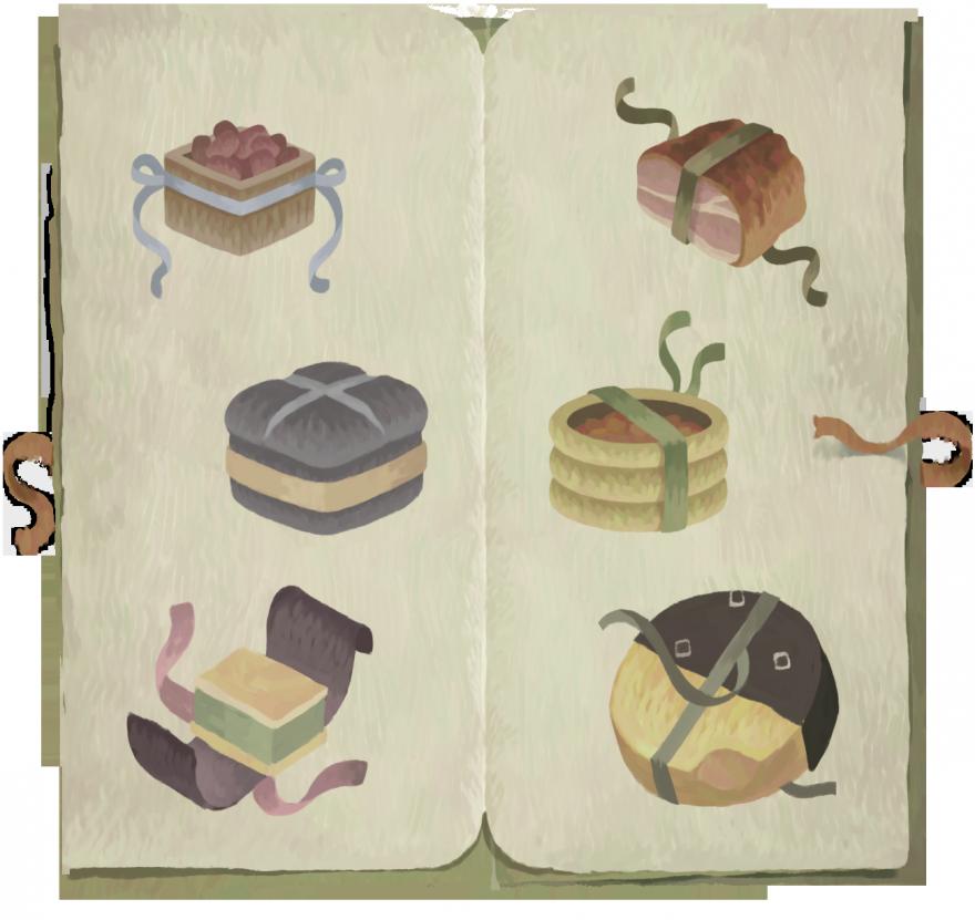Book of Travels: Еда и напитки Плетёного Берега