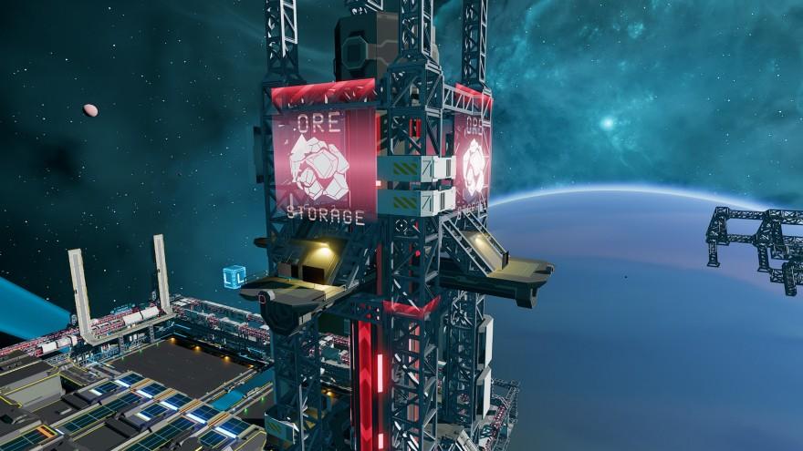Starbase: Первый взгляд на производство и дерево технологий