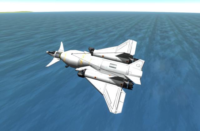 Kerbal Space Program: Испытательный полёт одного из первых прототипов
