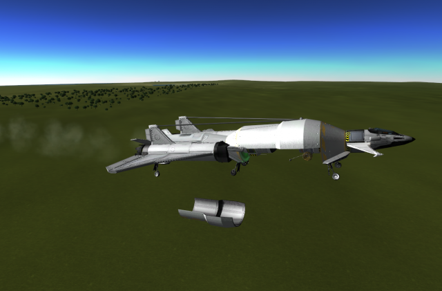 Kerbal Space Program: Контролируемая разгерметизация